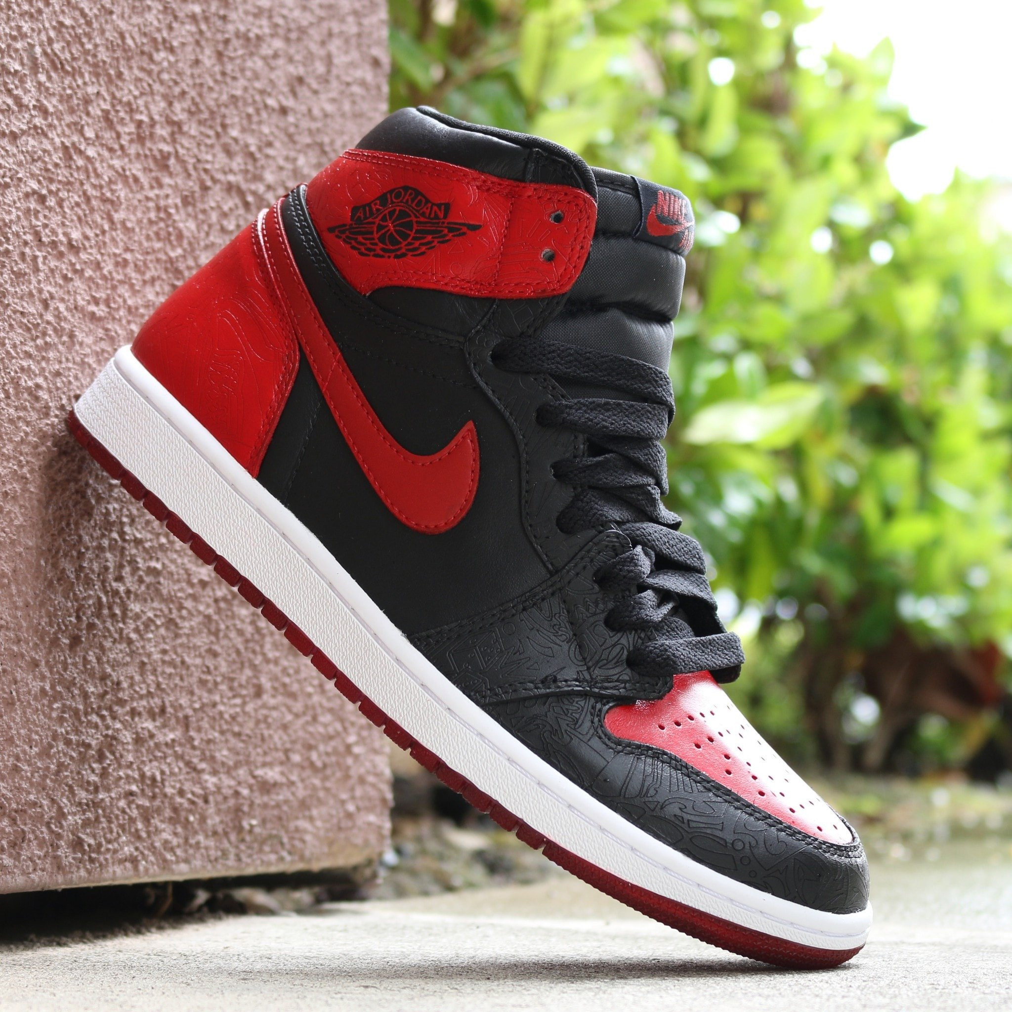 Bred 1 Custom Kit – Sneaks And Laces