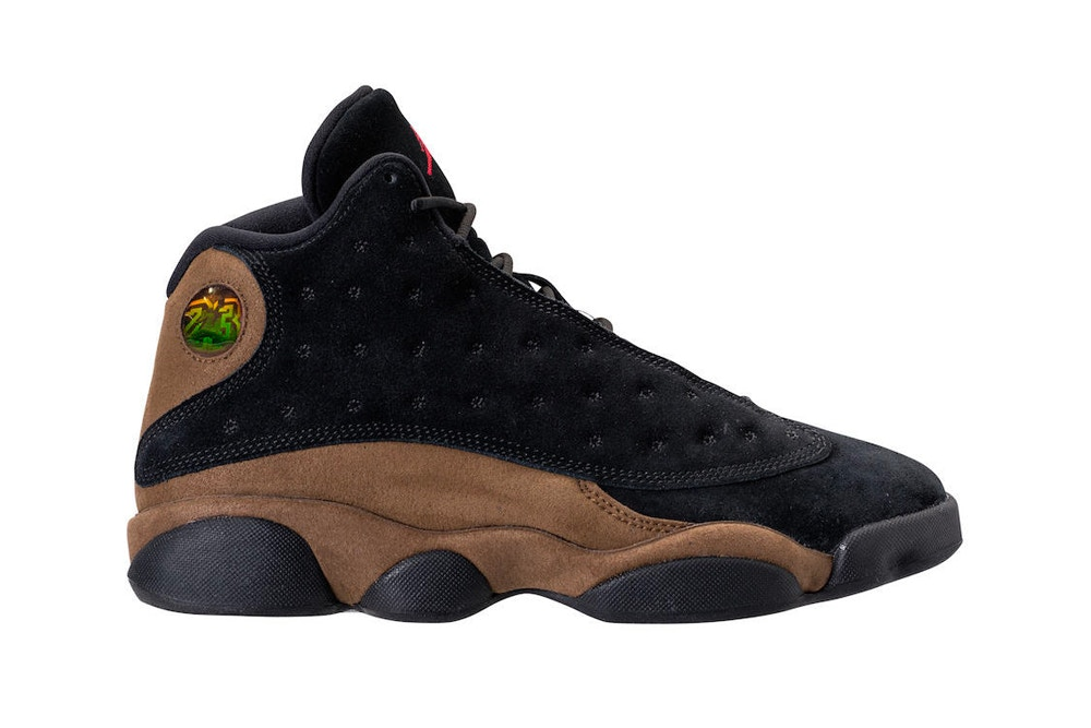release date b3617 7c14f The Air Jordan 13 Will Soon Drop in Black Olive Suede