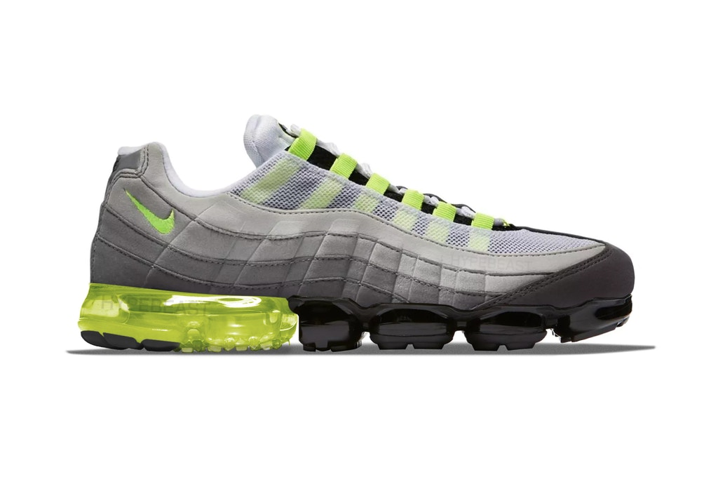 9638ed6a Images of a Nike Air Max 95 x VaporMax Hybrid Surface